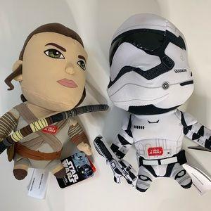 Star Wars Talking Plush Bundle Ray + StormTrooper